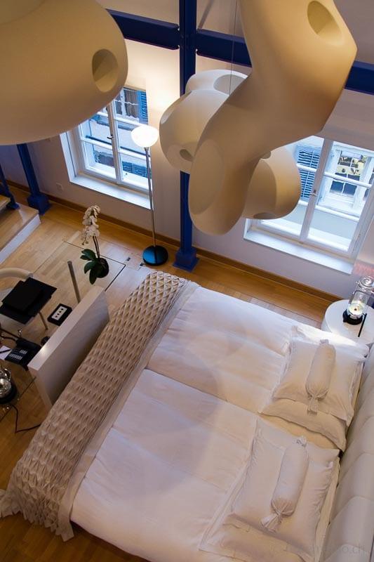 Duplex-Hotelbett-Widder-Zuerich
