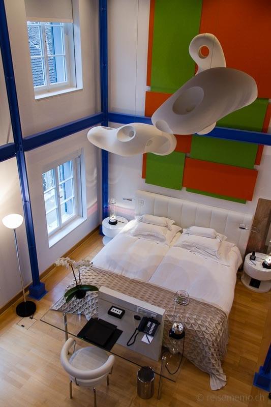 Modernes Loft-Zimmer Widder Hotel Zürich