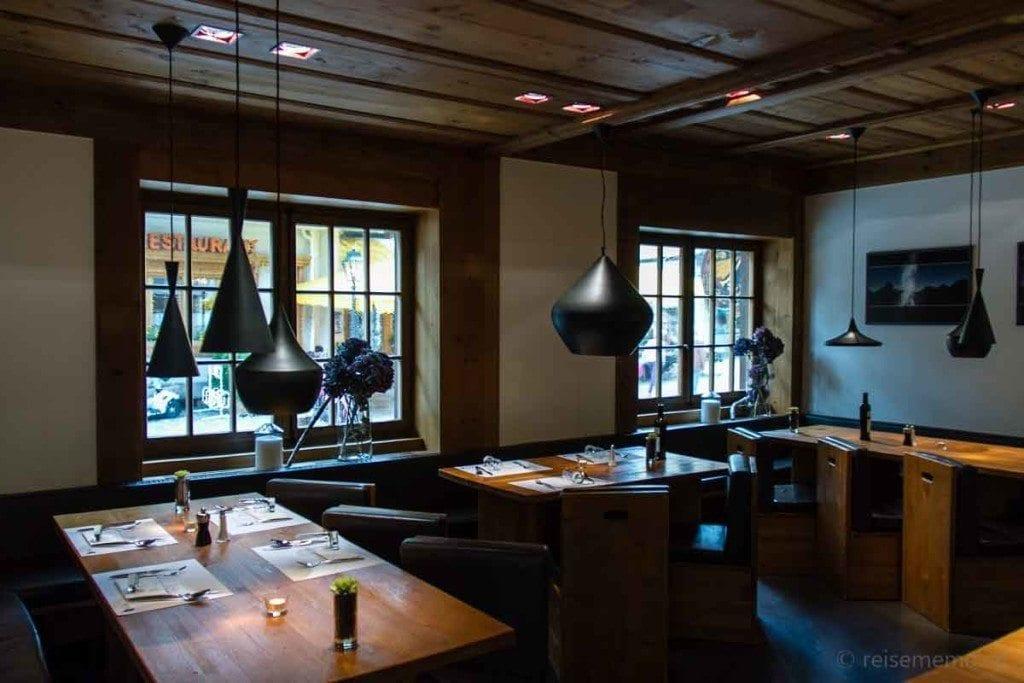 Leuchten im Restaurant Basta by Dalsass