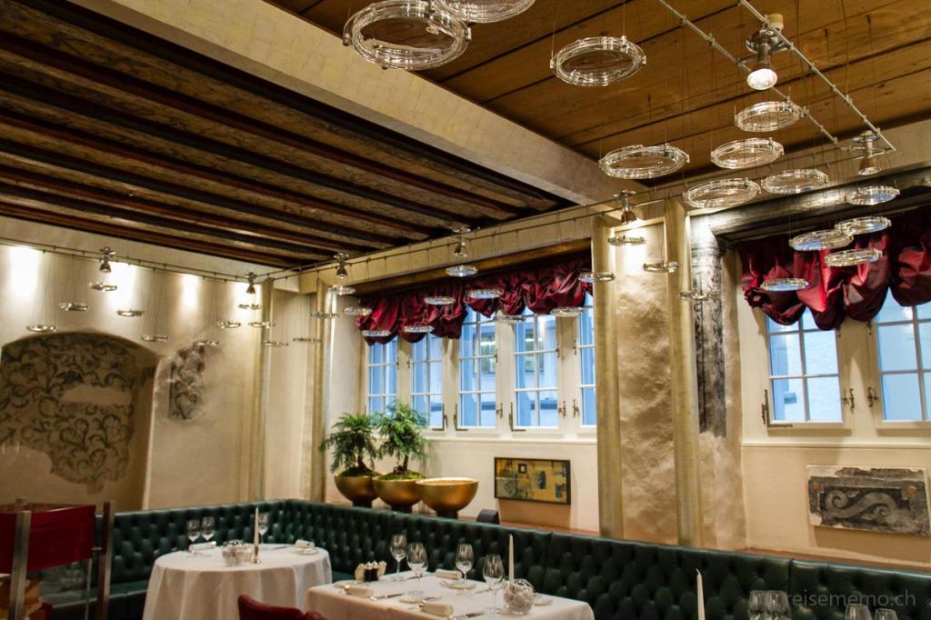 Restaurant Turmstübli des Widder Hotels