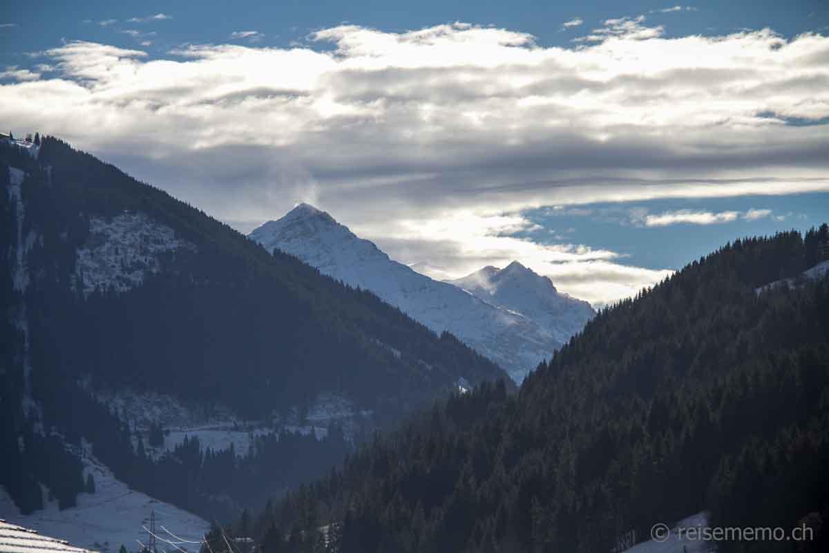Ausblick auf das Spitzhorn