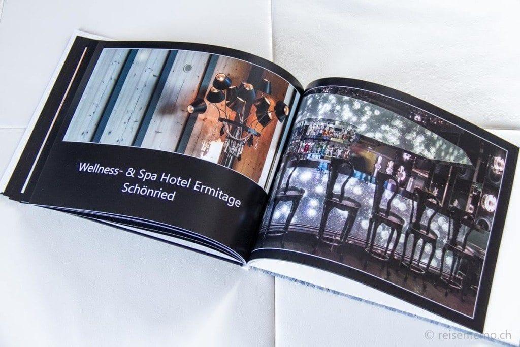 Migros-Fotobuch Wellness- & Spa Hotel Ermitage Schönried