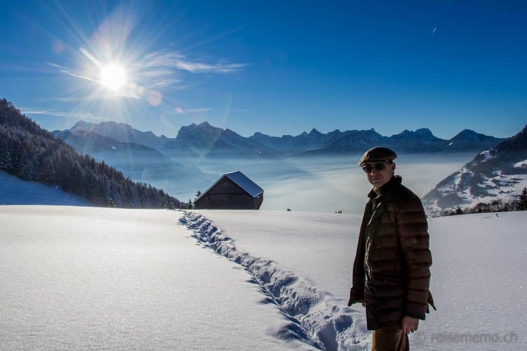 Winterwanderung in Amden