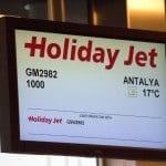 Erstflug HolidayJet Germania