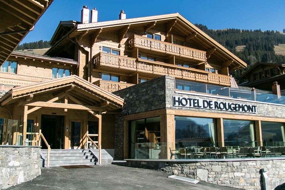 Hotel de Rougemont im idyllischen Chaletstil