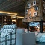 Lounge mit Cheminà©e