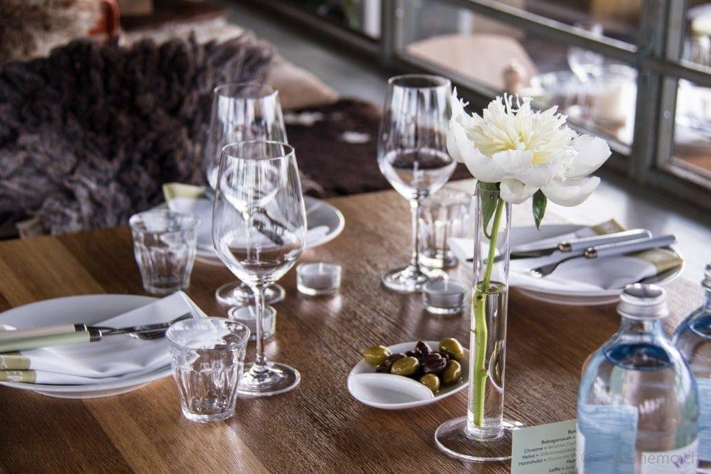 Gedeckter Tisch im Neni Restaurant