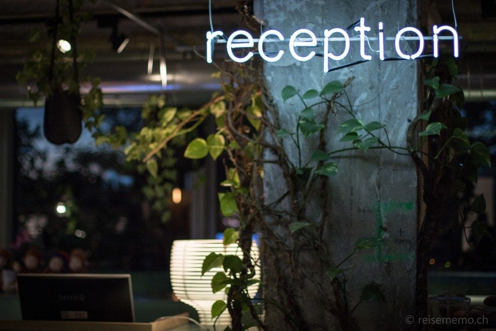 Reception Dschungel Style