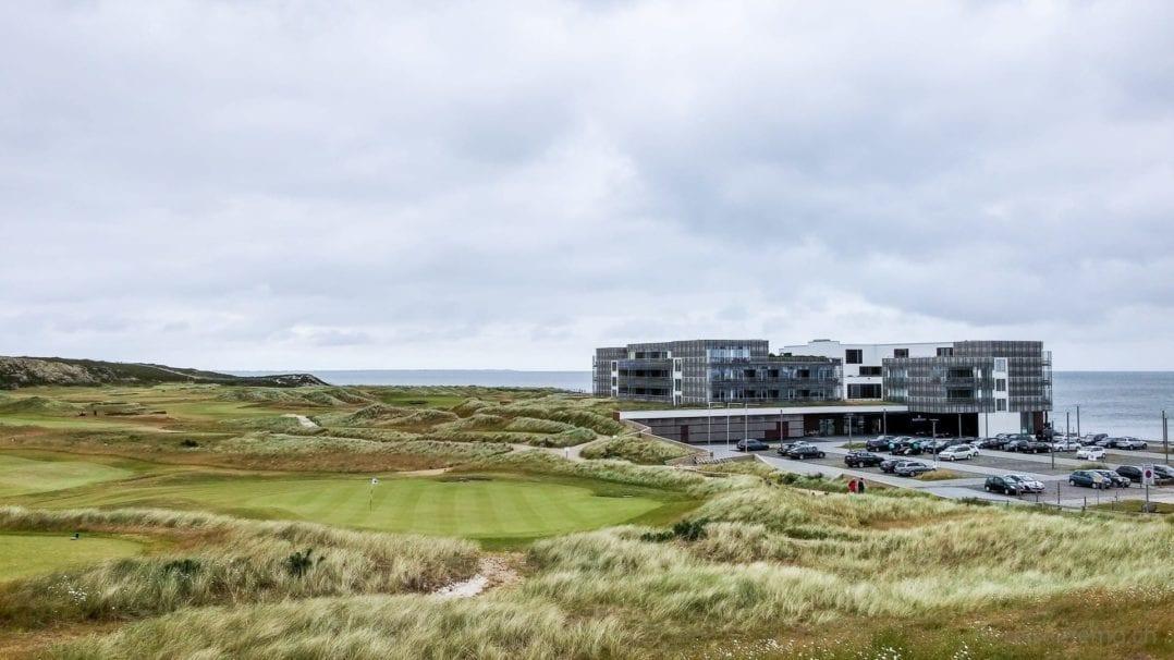 Budersandhotel mit Golfplatz