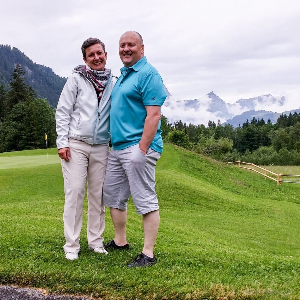 Sina und Roger Filliger