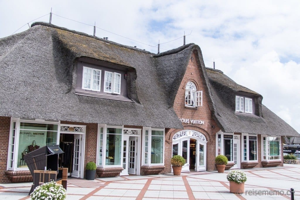 Luis Vuitton Boutique in Kampen Sylt