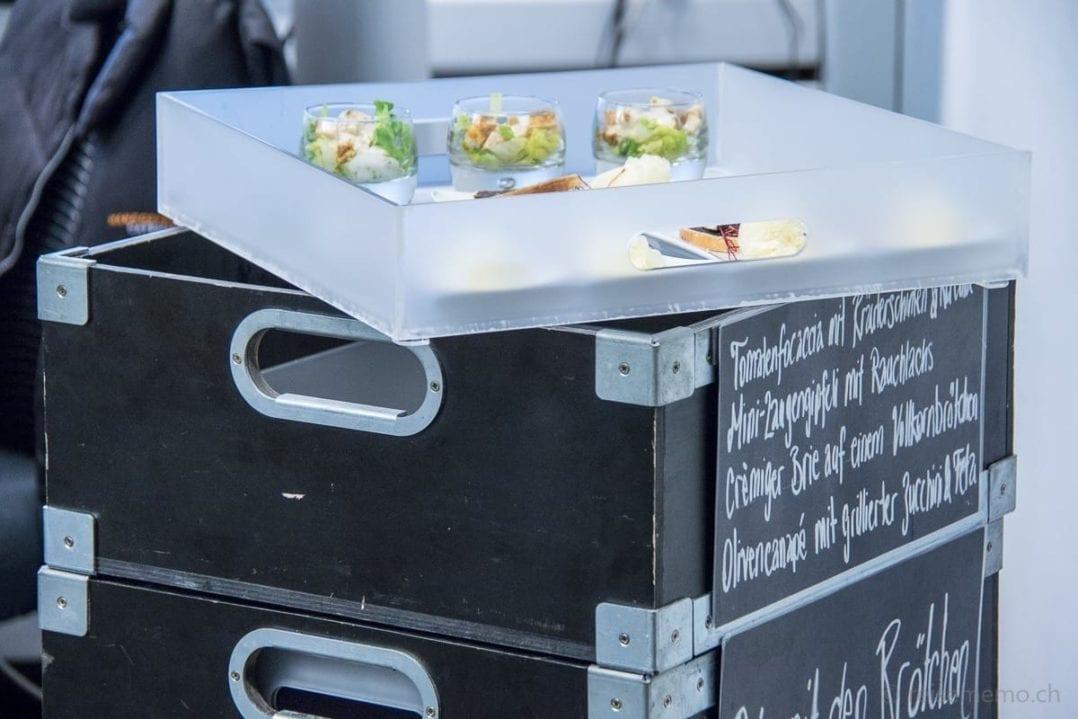 Vorkonfigurierbare Apéro-Box von Mangosteen Catering