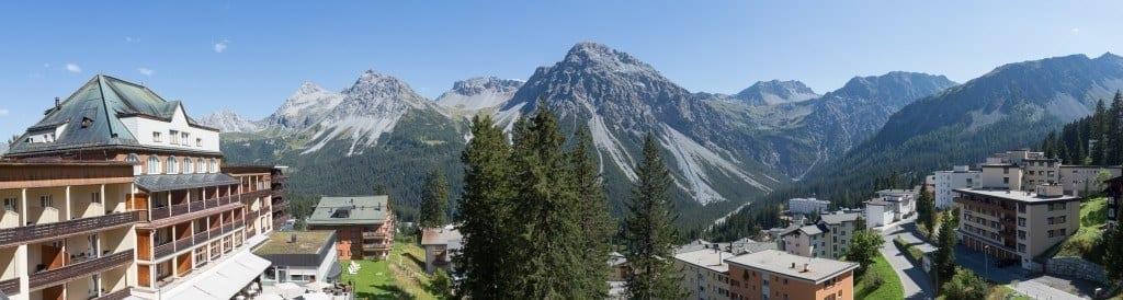 Waldhotel National - Ausblick