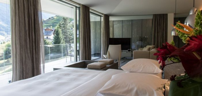 Hotelbett Kengo Kuma Suite
