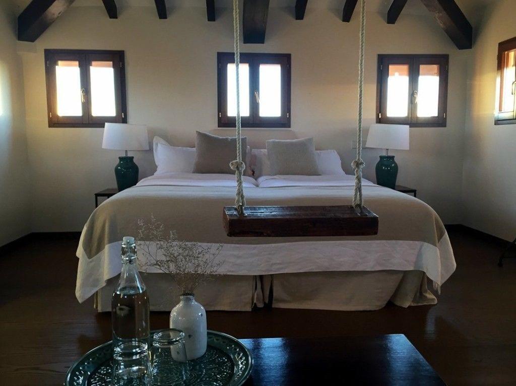 Schlafzimmer der Turm-Suite
