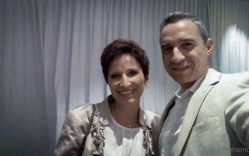 Katja & Walter an der White Party des Kameha Grand Zürich
