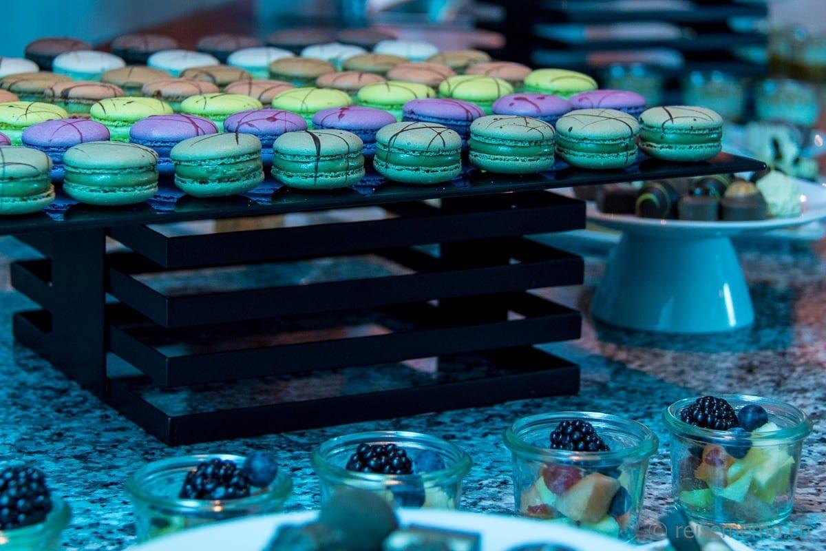 Macarons-Buffet