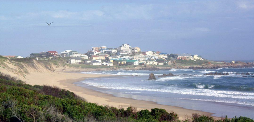 Küstenlinie bei Brenton on Sea in Südafrika