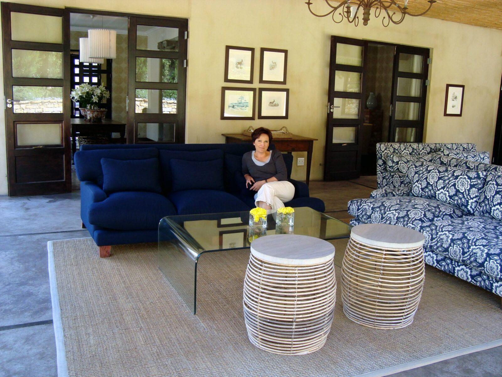 Katja Birrer geniesst das Windermere Boutique Hotel