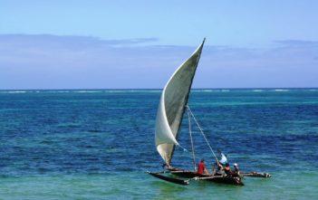 Sansibar-Segelboot
