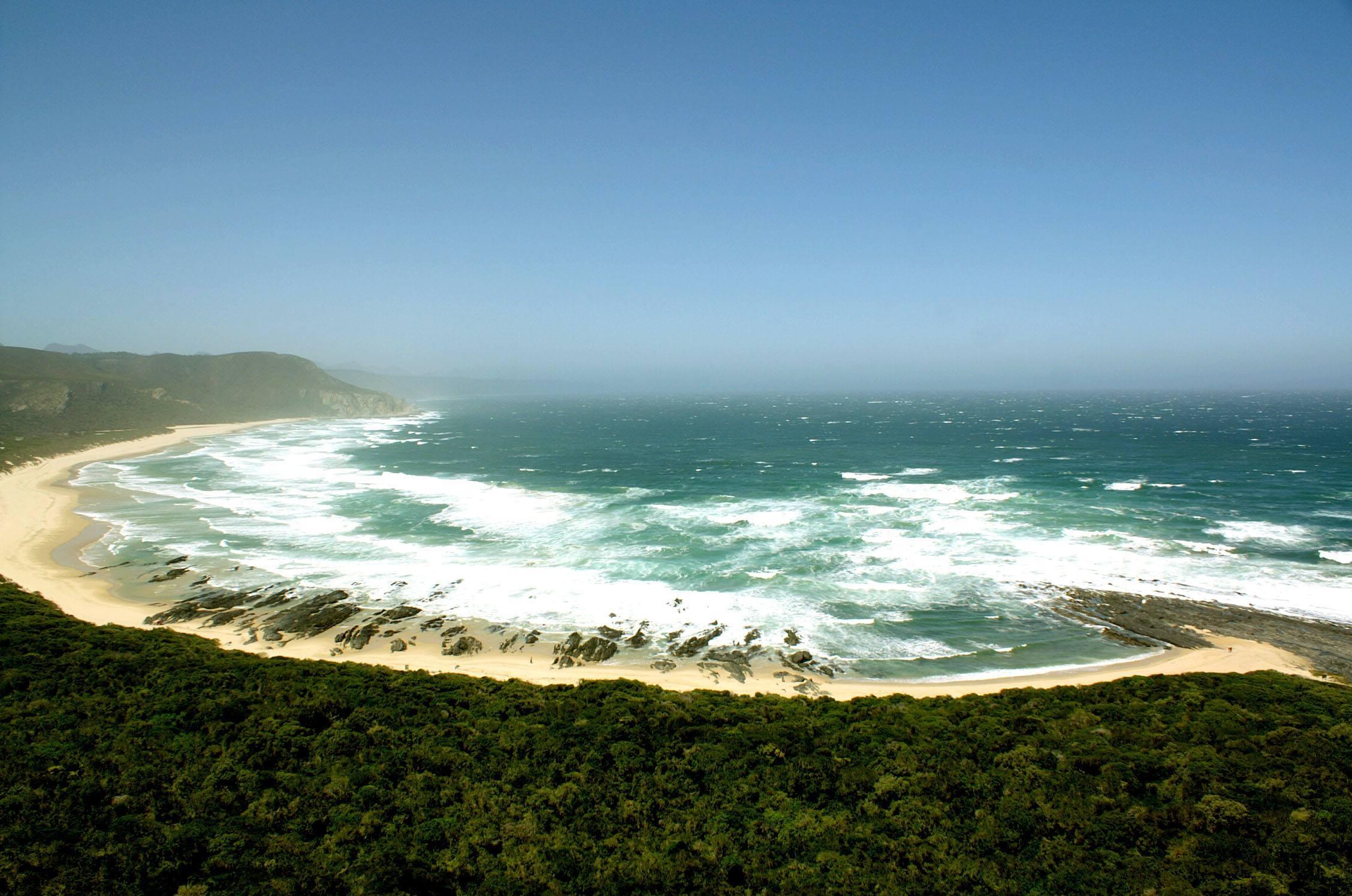 Küstenlinie des Tsitsikamma Nationalpark