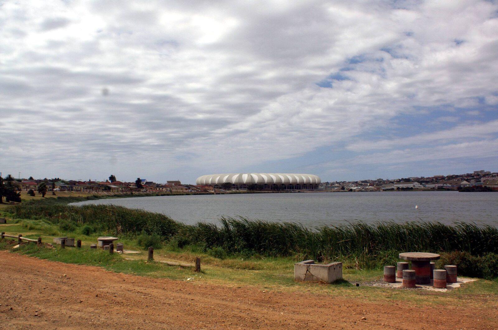 Umgebung des WM Fussballstadions in Port Elizabeth