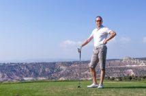 Walter Schärer im Aphrodite Hills Golfplatz