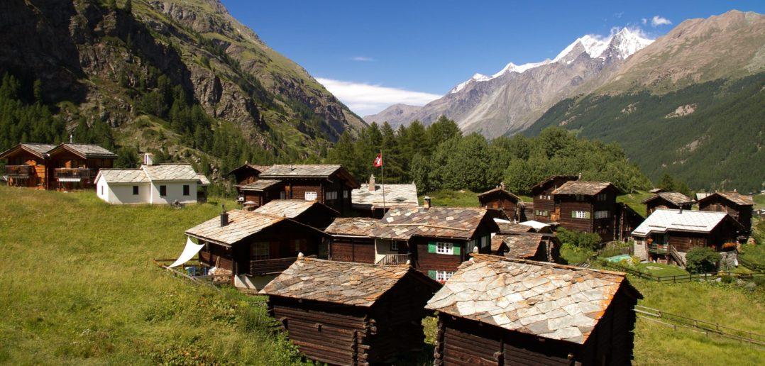 Weiler zwischen Furi und Zermatt