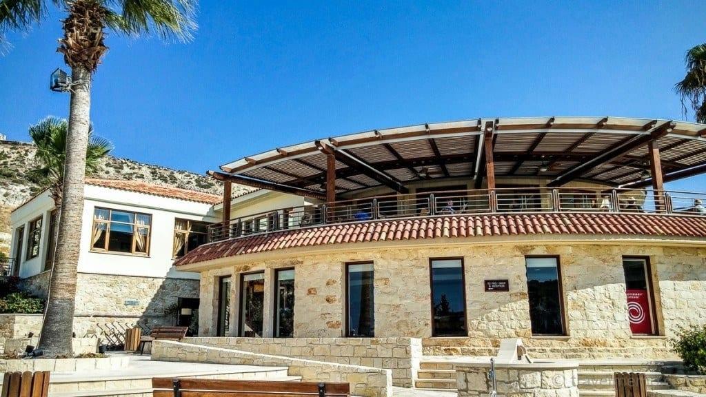 Secret Valley Klubhaus mit Terrasse