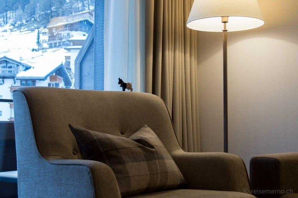 Fauteuil in der Family-Suite