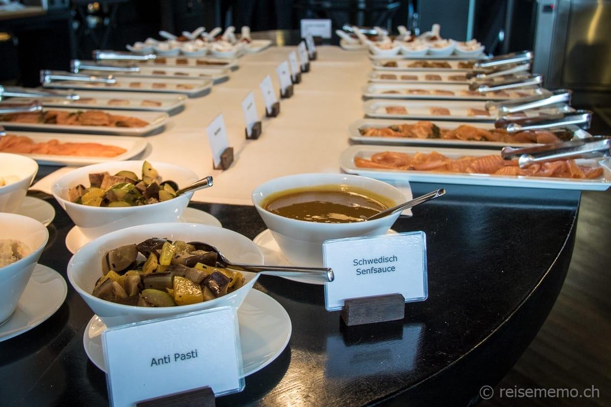 Antipasti Buffet Sonntagsbrunch Restaurant PUR