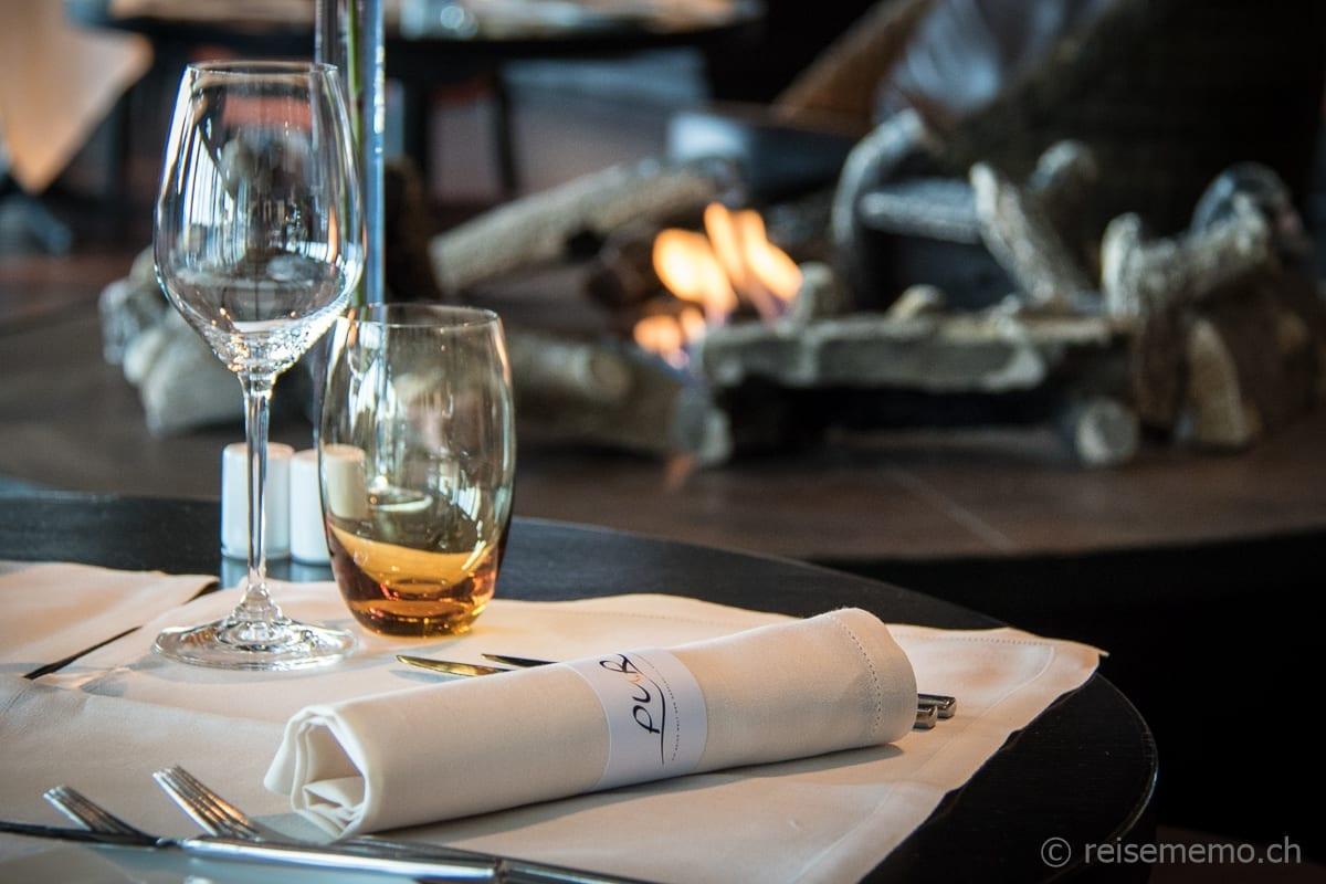 Tischgedeck Sonntagsbrunch Restaurant PUR