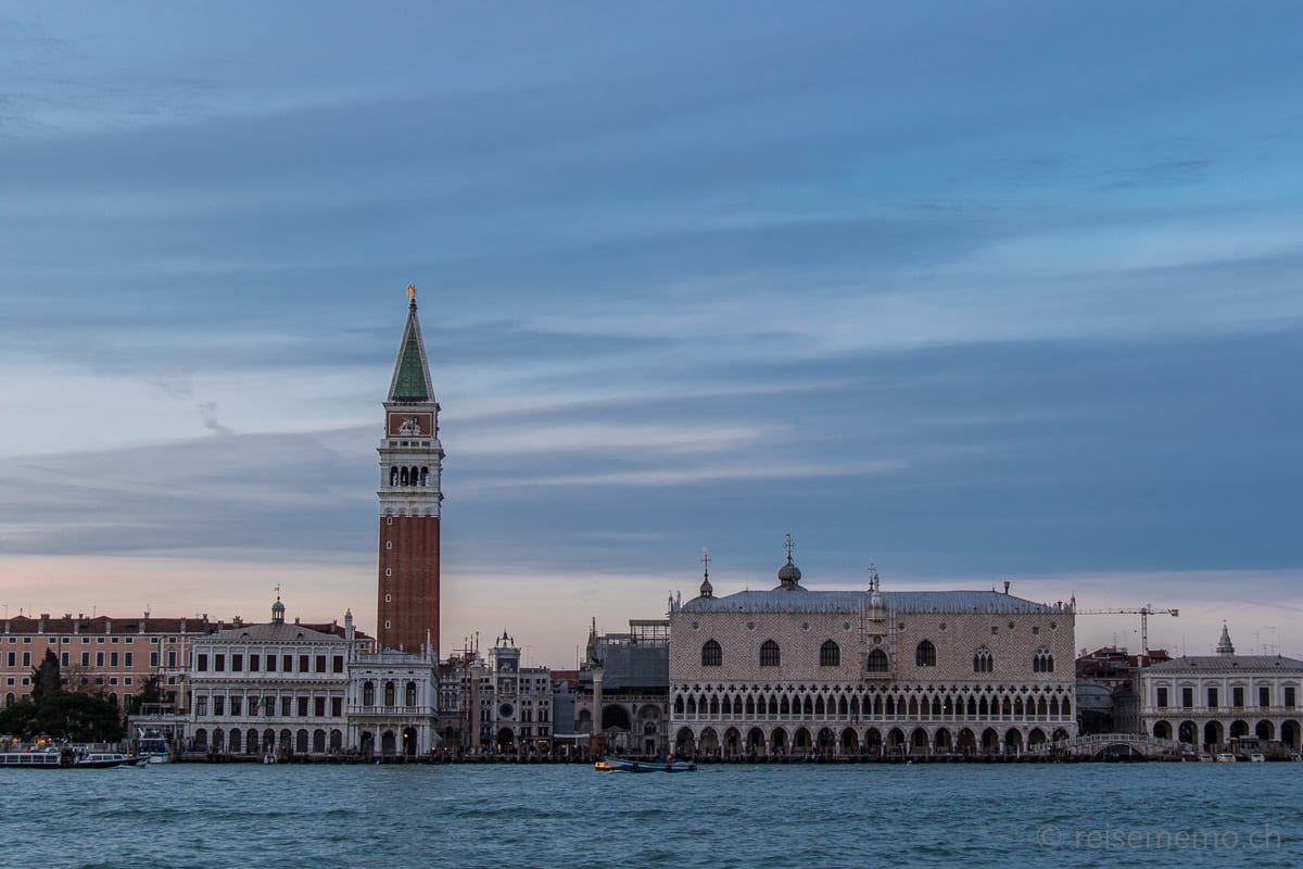 St. Mark's Square with campanile and doge palace