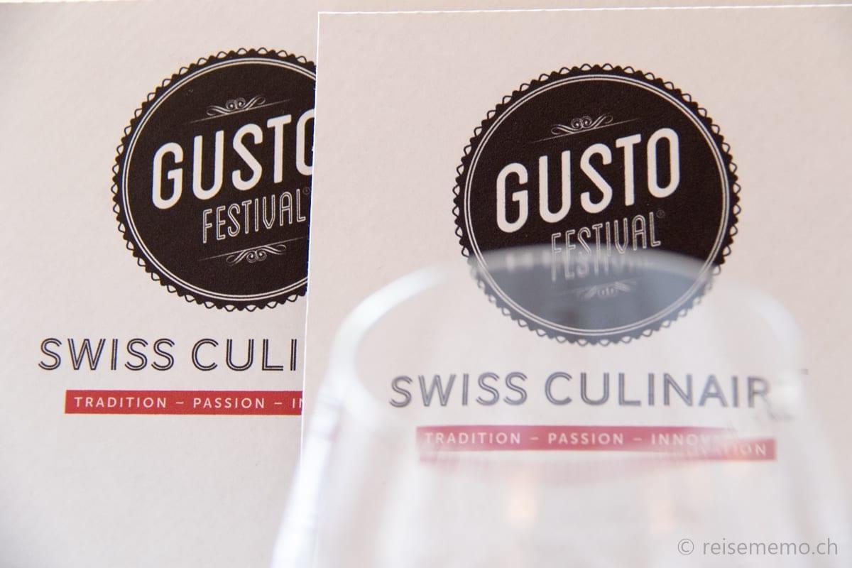 "Flyer Gustofestival ""Swiss Culinaire"""