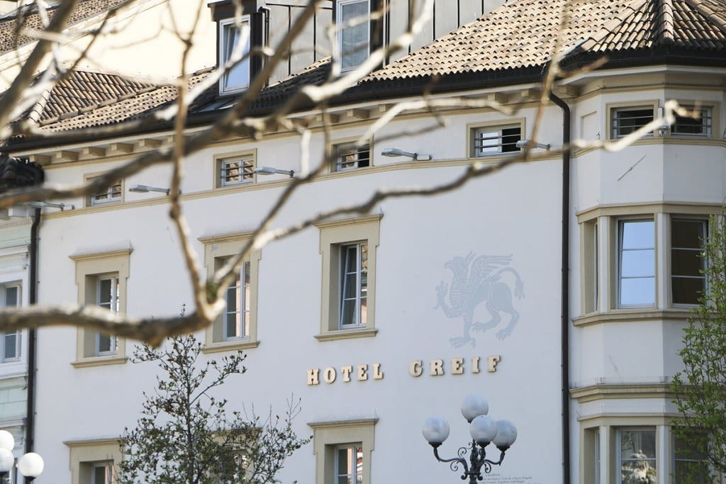 Bozen's Greif Hotel