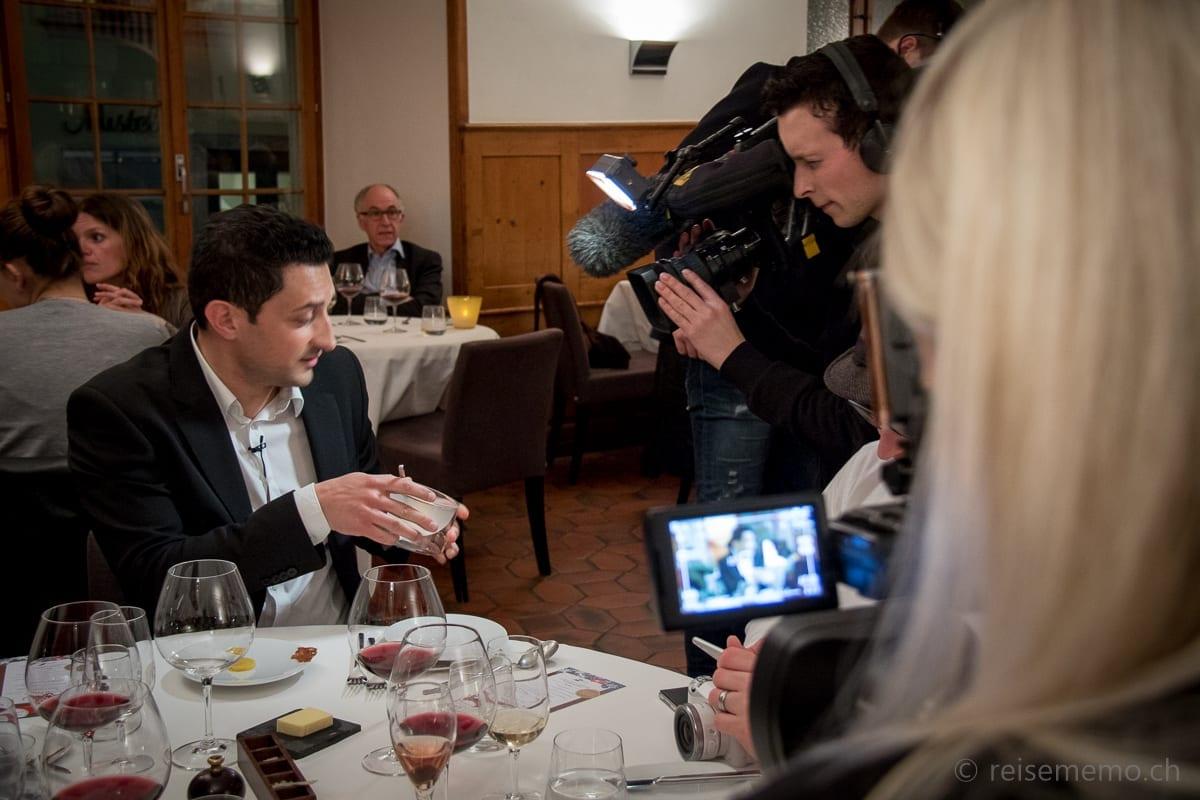 Moderator Giusi vom Solothurner Regionalfernsehen Jump TV