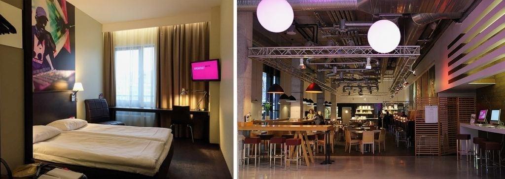 COMFORT HOTEL LT ROCK'N'ROLL VILNIUS – Zimmer & Restaurant TIME