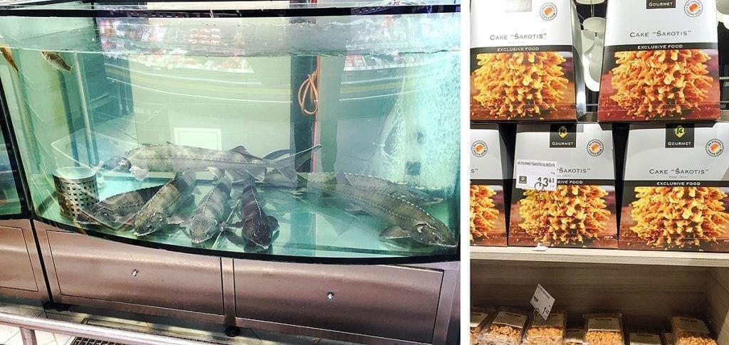 Stör Fischbecken; Coop Fine Food Verpackung