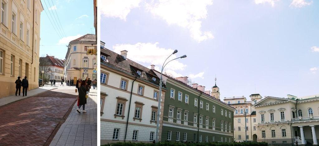 Universitäts-Viertel Vilnius