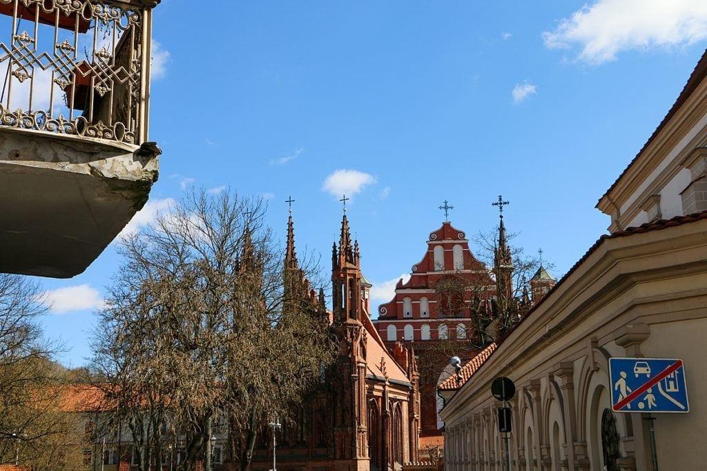 Hl. Annenkirche - Šv. Onos bažnyčia, Heiliger Bernhard-Kirche - Bernardinų bažnyčia;