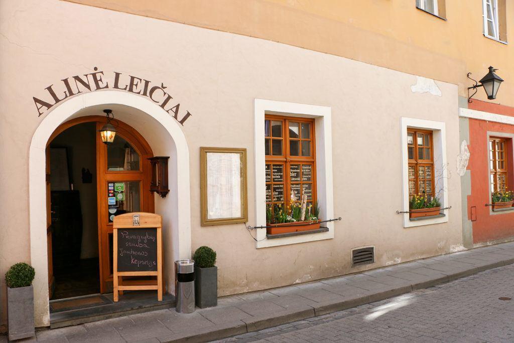 Restaurant Alinė Leičiai Vilnius