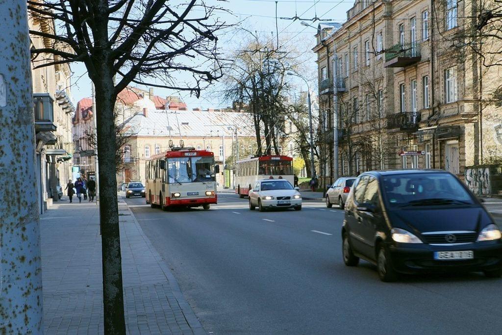Trolleybus in Vilnius