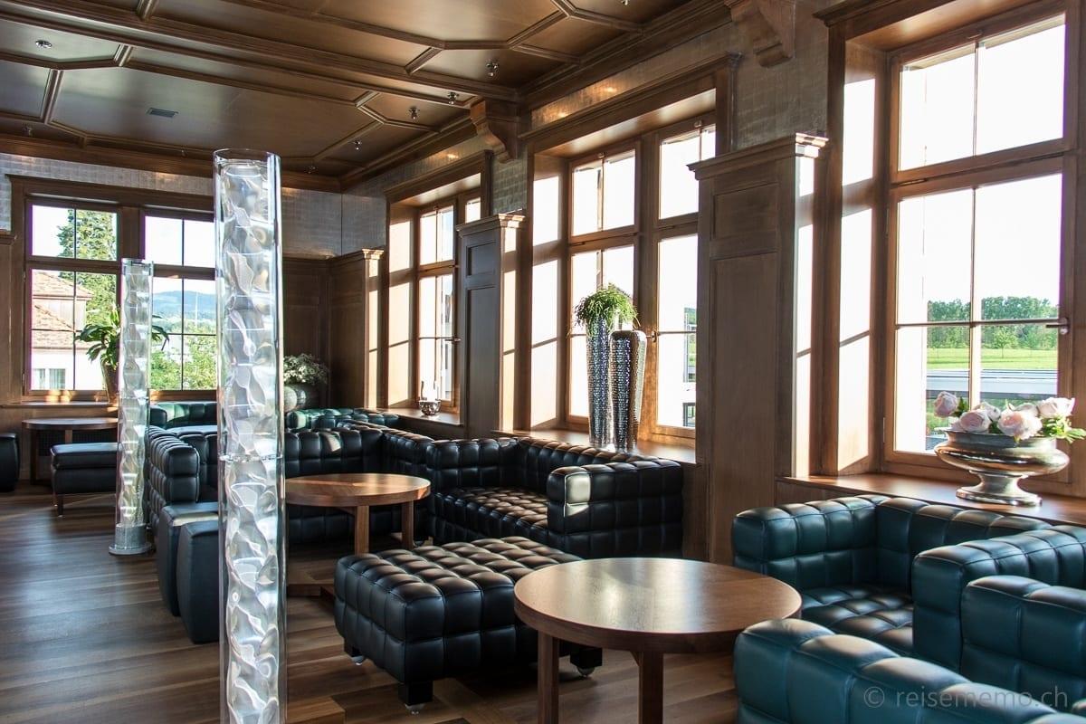 Lounge in der Galerie