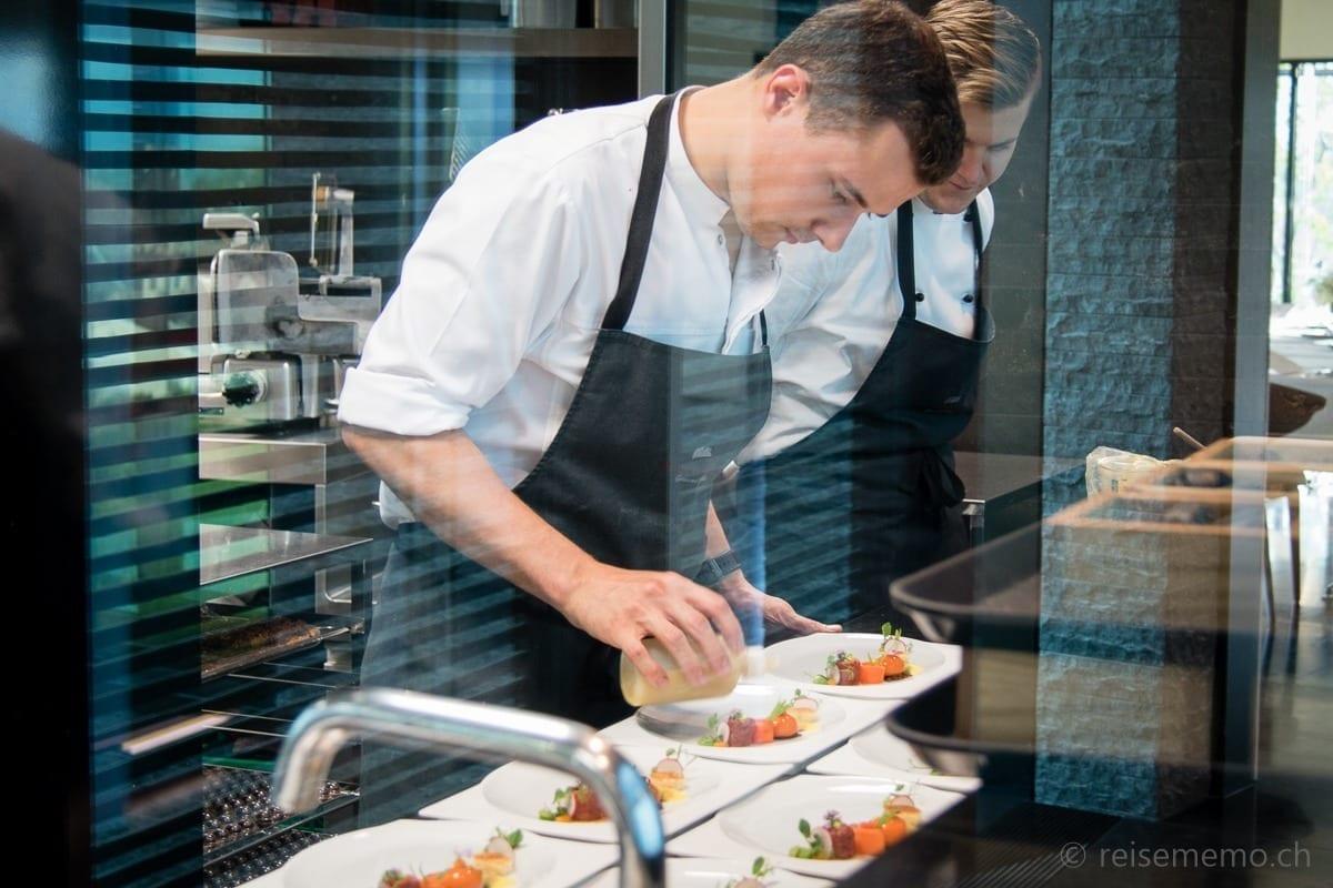 Junior Chef world champion Yannick Hollenstein