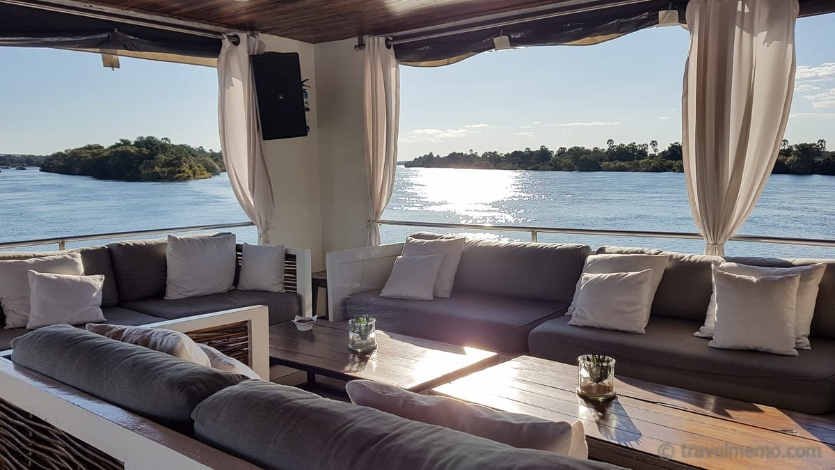 Signature Deck Zambezi river cruise