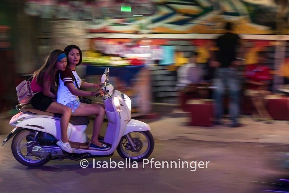 Roller in Saigon