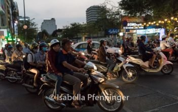 Motorroller in Saigon