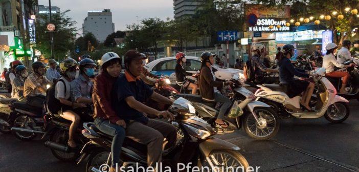 Motorroller in Saigon