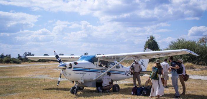 Flugsafari im Okavango Delta