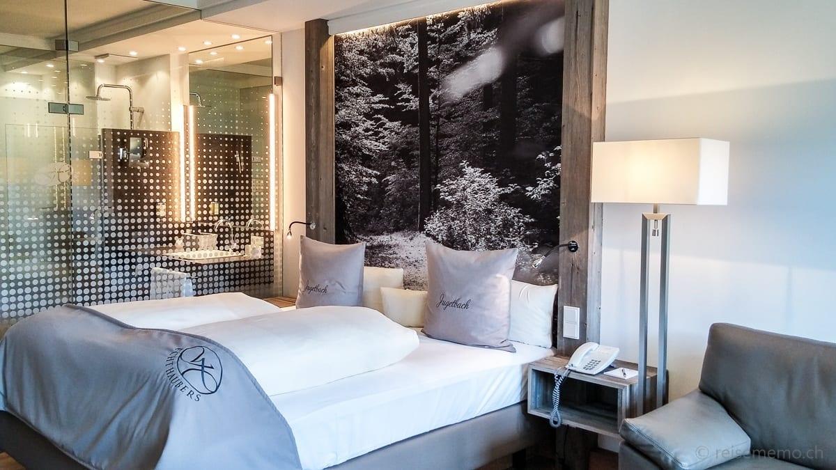 Hotelzimmer Gartenstudio Jugetbach